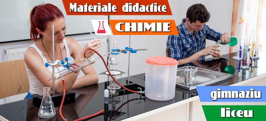 material didactic chimie