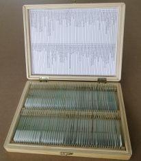 Set de 100 de preparate microscopice