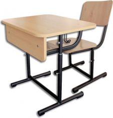 Set individual VEGA reglabil – P – banca si scaun