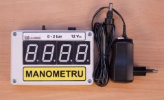 Manometru electronic cu senzor