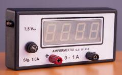 Ampermetru electronic cu senzor