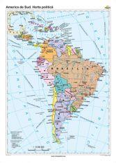 America de Sud: Harta politica