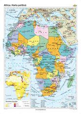 Africa: Harta politica