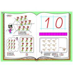 Numerele si cifrele - planse pentru formarea numerelor si invatarea cifrelor