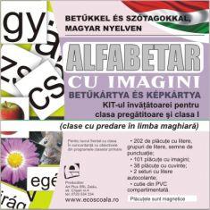 Alfabetar cu imagini pentru limba maghiara