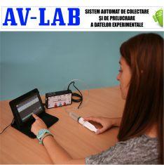 AV-LAB - Sistem de colectare si de prelucrare automata a datelor experimentale