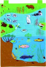 Flanelograf- Habitatul acvatic