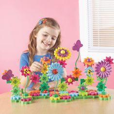 Set de construcţie Grădina cu flori