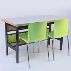 Masa de laborator GAMMA pentru 2 elevi