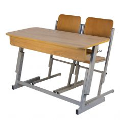 Set dublu ARES reglabil - L - banca si scaune