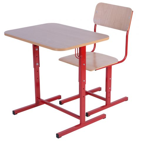 Set individual START reglabil – P, banca si scaun, fara polita si fara placa frontala