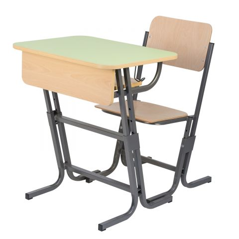 Set individual ZET reglabil - G - banca si scaun